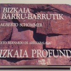 Libros de segunda mano: ALBERTO SCHOMMER BIZKAIA PROFUNDA BARRU BARRUTIK FOTOGRAFIA VASCO EUSKADI. Lote 89224535
