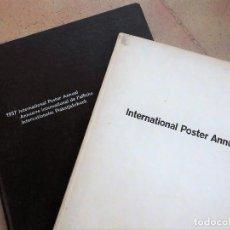 Libros de segunda mano: INTERNATIONAL POSTER ANNUAL - ANUARIOS DEL DISEÑO GRÁFICO MUNDIAL - EDICIONES DE 1957 Y 1963/64. Lote 89613088