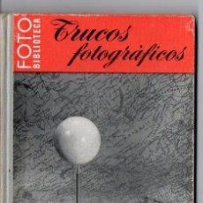 Libros de segunda mano: TRUCOS FOTOGRÁFICOS - FOTO BIBLIOTECA OMEGA. Lote 89800106