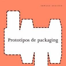 Libros de segunda mano: PROTOTIPOS DE PACKAGING - GG - ISBN: 9788425221521. Lote 89880152