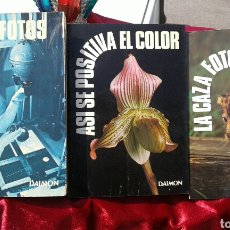 Libros de segunda mano: COLECCION LIBROS FOTOGRAFIA, DAIMON. Lote 90293476