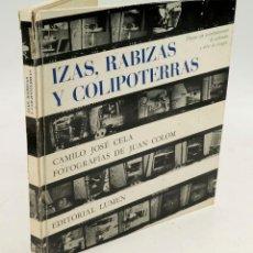 Libros de segunda mano: IZAS RABIZAS Y COLIPOTERRAS, JOAN COLOM, CELA, LUMEN ED. 22X23 CM.. Lote 90363220
