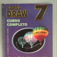 Libros de segunda mano: COREL DRAW 7 CURSO COMPLETO. Lote 91335370