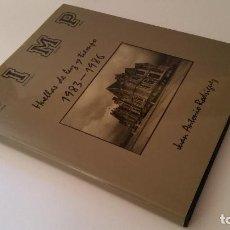 Libros de segunda mano: 1988 - JUAN ANTONIO RODRÍGUEZ - UIMP: HUELLAS DE LUZ Y TIEMPO 1983-1986. Lote 92202125