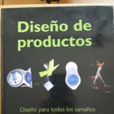 Libros de segunda mano: DISEÑO DE PRODUCTOS / CRISTIAN CAMPOS / MAOMAO / 2006. Lote 92731335