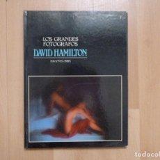 Libros de segunda mano: LOS GRANDES FOTOGRAFOS. EDICIONES ORBIS. DAVID HAMILTON 60PP 1983. Lote 93147020