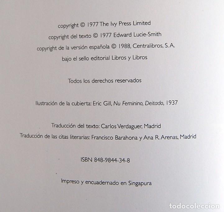 Libros de segunda mano: ARS EROTICA. EDWARD LUCIE - SMITH. EDITADO POR CENTRALIBROS S.A EN 1988 - Foto 16 - 93753225