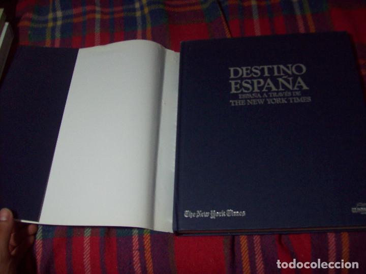 Libros de segunda mano: DESTINO ESPAÑA. ESPAÑA A TRAVÉS DE THE NEW YORK TIMES. INTRODUCCIÓN HUGH THOMAS. LUNWERG,ED. - Foto 47 - 95179523