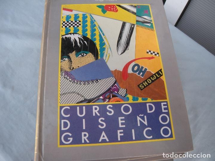 Libros de segunda mano: CURSO DISEÑO GRÁFICO 8 TOMOS - Foto 7 - 154252569