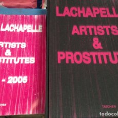 Libros de segunda mano: IMPRESIONANTE LIBRO FOTOGRAFICO DAVID LACHAPELLE ARTISTS AND PROSTITUTES ED LIMITADA EN CAJA ORIGINA. Lote 95690435