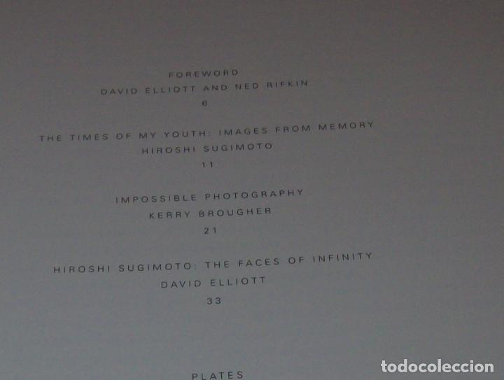 Libros de segunda mano: HIROSHI SUGIMOTO. KERRY BROUGHER & DAVID ELLIOTT. HIRSHHORN MUSEUM AND SCULPTURE GARDEN. 2006. - Foto 5 - 95715939