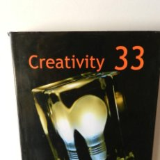 Libros de segunda mano: CREATIVITY 33 HARDCOVER – DAVID E. CARTER 2004 DISEÑO GRÁFICO GRAPHIC DESIGN. Lote 95856027