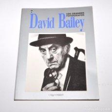 Libros de segunda mano: LOS GRANDES FOTOGRAFOS - DAVID BAILEY. Lote 96047811