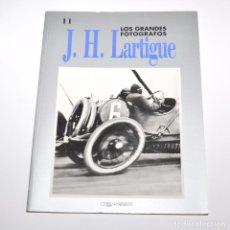 Libros de segunda mano: LOS GRANDES FOTOGRAFOS - J.H. LARTIGUE. Lote 96047851