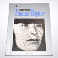 Libros de segunda mano: LOS GRANDES FOTOGRAFOS - THOMAS HÖPKER. Lote 96047859