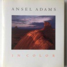 Libros de segunda mano: ANSEL ADAMS. IN COLOR. HARRY M. CALLAHAN. LITTLE, BROWN AND COMPANY. 1993. EXCELENTE. Lote 96487455
