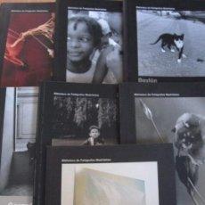 Libros de segunda mano: BIBLIOTECA DE FOTOGRAFOS MADRILEÑOS. LOTE DE 7 LIBROS. Nº 7, GERARDO VIELBA. Nº 10, JAVIER VALLHONRA. Lote 96869547