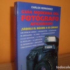 Libros de segunda mano: GUIA MODERNA DEL FOTOGRAFO AFICIONADO. Lote 97913795