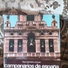 Libros de segunda mano: CAMPANARIOS DE ESPAÑA, DE CATALA ROCA (FOTOGRAFIAS). BUEN TAMAÑO. EXCELENTE ESTADO.. Lote 98390347