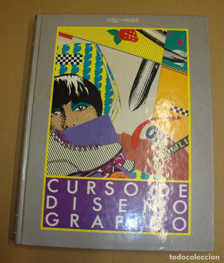 CURSO DE DISEÑO GRAFICO 8 TOMOS (Libros de Segunda Mano - Bellas artes, ocio y coleccionismo - Diseño y Fotografía)