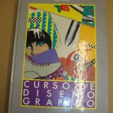 Libros de segunda mano: CURSO DE DISEÑO GRAFICO 8 TOMOS. Lote 100411703