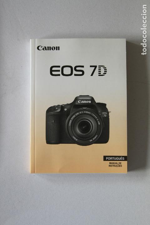 manual de instru es canon eos 7d portugu s comprar libros de rh en todocoleccion net manual 7d mark ii portugues Canon Camera