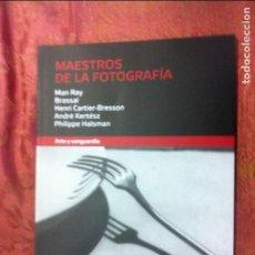 Libros de segunda mano: MAESTROS DE LA FOTOGRAFIA ARTE Y VANGUARDIA. Lote 101557603