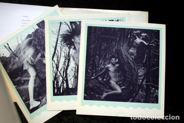 Libros de segunda mano: XAVIER GUARDANS - MONTSERRAT - 12 FOTOGRAFIAS - POEMA JESUS FERRERO - Diseño de John Warwicker RARO - Foto 4 - 102775211