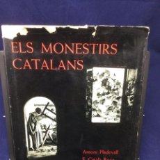 Libros de segunda mano: ELS MONESTIRS CATALANS. IMATGE DE CATALUNYA. 1968. Lote 103055503