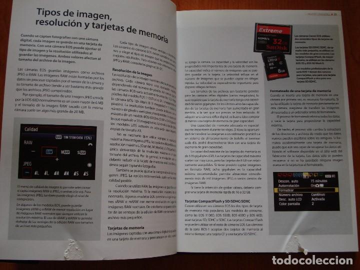 Libros de segunda mano: MEJORES IMAGENES CON LAS CAMARAS REFLEX CANON EOS - Foto 3 - 103828359