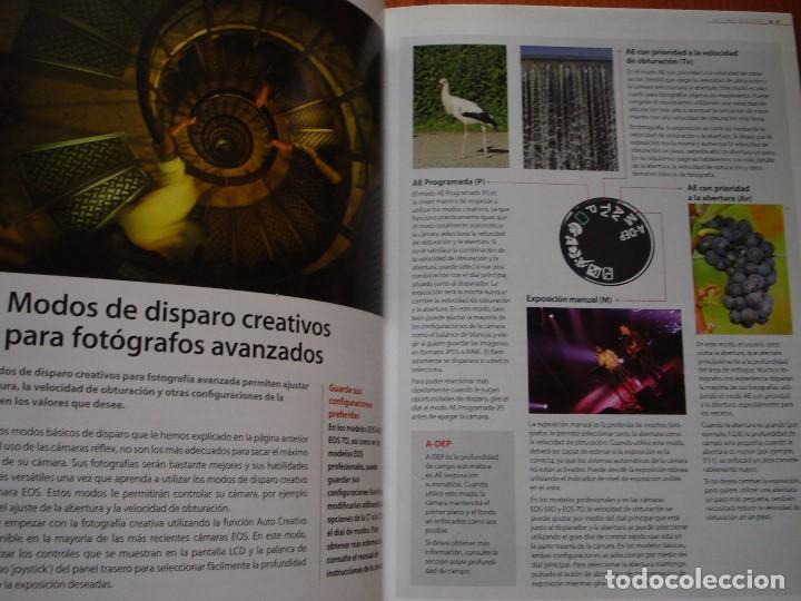 Libros de segunda mano: MEJORES IMAGENES CON LAS CAMARAS REFLEX CANON EOS - Foto 5 - 103828359