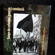Libros de segunda mano: UN SEGLE D'HISTORIA DE CATALUNYA EN FOTOGRAFIES VOLUM 2 (1931-1939) ISBN: 978-84-412-1938-0. Lote 103971563