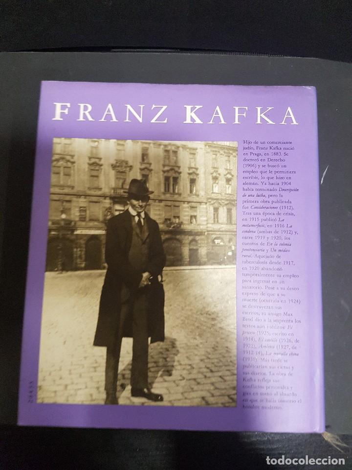 Libros de segunda mano: FRANZ KAFKA,IMÁGENES DE SU VIDA - Foto 2 - 104319747