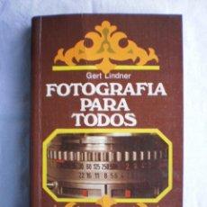 Libros de segunda mano: FOTOGRAFIA PARA TODOS. Lote 105709515