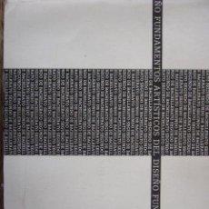 Libros de segunda mano: FUNDAMENTOS ARTISTICO DEL DISEÑO. TEIDE. Lote 107099235