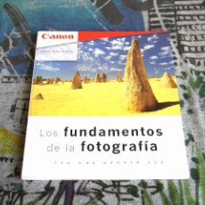 Libros de segunda mano: LOS FUNDAMENTOS DE LA FOTOGRAFÍA CON UNA CÁMARA EOS - CANON. Lote 107103671