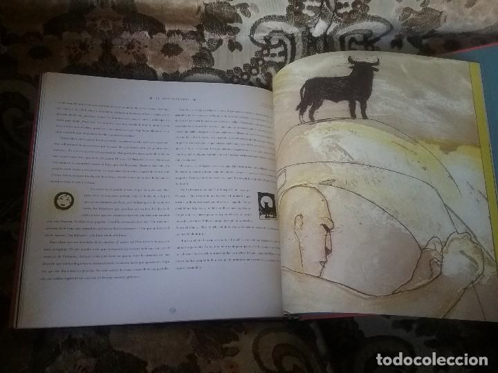 Libros de segunda mano: Un toro negro y enorme (El toro Osborne). Ed. lujo, gran formato, muy ilustrado. - Foto 3 - 110039031