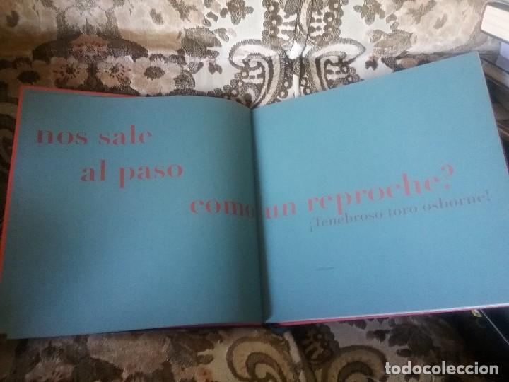 Libros de segunda mano: Un toro negro y enorme (El toro Osborne). Ed. lujo, gran formato, muy ilustrado. - Foto 4 - 110039031
