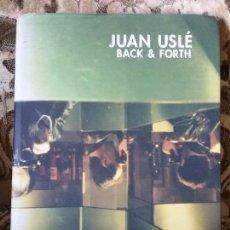 Libros de segunda mano: JUAN USLE - BACK AND FORTH. IVAM. MUY ILUSTRADO (FOTOGRAFÍA, ARTE). SUBRAYADOS A LAPIZ.. Lote 110361083