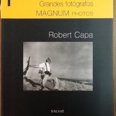 Libros de segunda mano: ROBERT CAPA. GRANDES FOTÓGRAFOS.. Lote 110873699