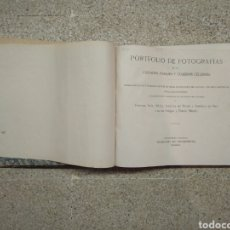 Libros de segunda mano: PORTAFOLIO DE FOTOGRAFÍAS DE LAS CIUDADES, PAISAJES Y CUADROS CÉLEBRES. Lote 111222888