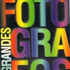 Livres d'occasion: LOS GRANDES FOTOGRAFOS. VV.AA. FT-127. Lote 114247355
