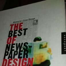 Libros de segunda mano: THE BEST OF NEWSPAPER DESIGN.19TH EDITION. Lote 111429864