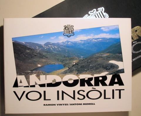 Libros de segunda mano: VINYES, Ramon - MORELL, A. - ANDORRA VOL INSÒLIT - Andorra 1989 - Molt il·lustrat - Foto 2 - 112207120