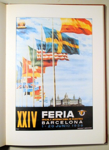 Libros de segunda mano: FIRA OFICIAL I INTERNACIONAL DE MOSTRES A BARCELONA. CARTELLS - Barcelona 1980 - Molt il·lustrat - Foto 6 - 112207680