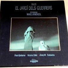 Libros de segunda mano: GAUDÍ, EL JARDÍ DELS GUERRERS - FOTOGRAFIES MANEL ARMENGOL / LUNWERG EDITORES 1987. Lote 112616839