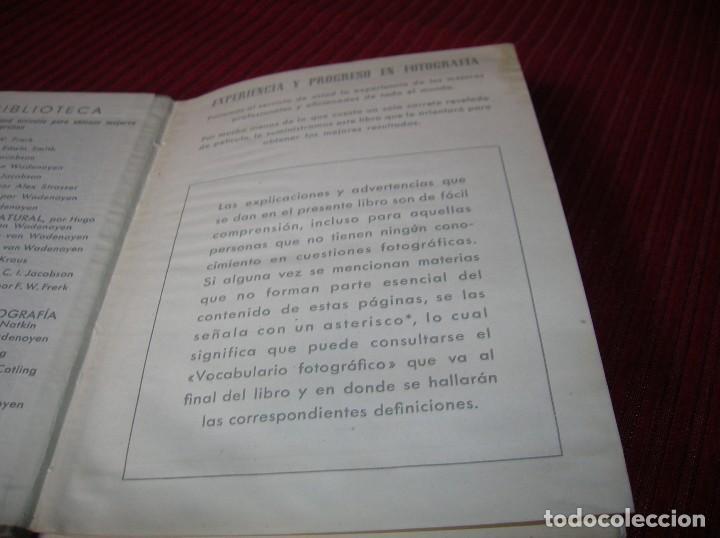 Libros de segunda mano: Librito La Contax y su manejo.W. D. Emanuel .Segunda edición - Foto 2 - 113093375