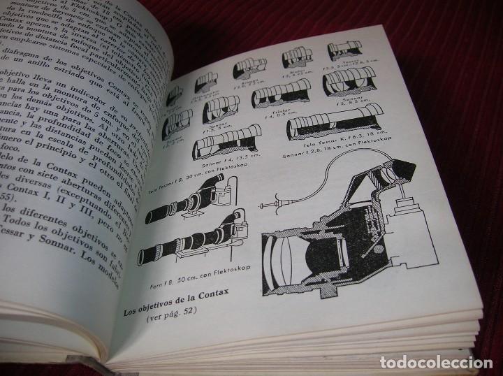 Libros de segunda mano: Librito La Contax y su manejo.W. D. Emanuel .Segunda edición - Foto 4 - 113093375