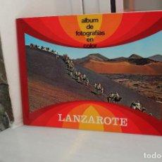 Libros de segunda mano: LANZAROTE, ALBUM DE FOTOGRAFIAS EN COLOR. . Lote 113847883