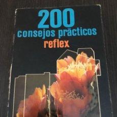 Libros de segunda mano: 200 CONSEJOS PRÁCTICOS REFLEX, EMILIE VOOGEL Y PETER KEYZER, ED. PARRAMÓN. 1980. Lote 114126755
